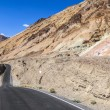 Winding road Artists drive in the Death Valley — Stock Photo #11653459