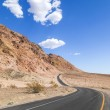 Winding road Artists drive in the Death Valley — Stock Photo #11653604