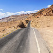 Winding road Artists drive in the Death Valley — Stock Photo #11654125