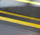 Détail d'escalier moving — Photo