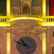 Stock Photo: Facade of clocktower of VenetiResort Hotel & Casino