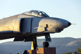 Phantom F4 Fighter at Veterans Memorial in Susanville — Stock Photo