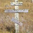 Old crosses at the historic orthodox cemetery of Fort Ross — Стоковая фотография