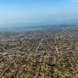 Royalty-Free Stock Photo: Aerial of Los Angeles