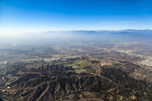 Approaching Los Angeles Airport from the South — Stock Photo
