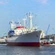 Historic freighter San Diego in Hamburg — ストック写真