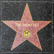 Monkee star on Hollywood Walk of Fame — Stock Photo #11899471