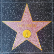 Bing Crosbys star on Hollywood Walk of Fame — Stock Photo