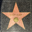 Buddy Clarks star on Hollywood Walk of Fame — Stock Photo