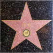 Stock Photo: Stings star on Hollywood Walk of Fame