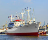 Historic freighter San Diego in Hamburg — Stock Photo