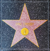 Bing Crosbys star on Hollywood Walk of Fame — Stock Photo