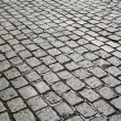 Detail of cobble stone street gives harmonic pattern — Stock Photo #11901866