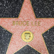 Bruce Lees star on Hollywood Walk of Fame — Stock Photo #11920012