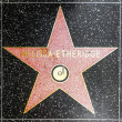 MelissEtheridges star on Hollywood Walk of Fame — Stock Photo #11921140