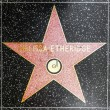 Melissa Etheridges star on Hollywood Walk of Fame — Stock Photo