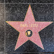 Earl Lestz star on Hollywood Walk of Fame — Stock Photo