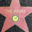 Doors star on Hollywood Walk of Fame — Stock Photo #11922110