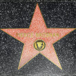 Pierce Brosnans star on Hollywood Walk of Fame — Stock Photo