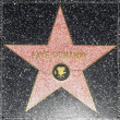 Fay Dunaways star on Hollywood Walk of Fame — Stock Photo