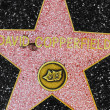 David Copperfields star on Hollywood Walk of Fame — Stock Photo