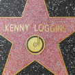 Kenny Loggins star on Hollywood Walk of Fame — Stock Photo