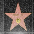 Bruce Lees star on Hollywood Walk of Fame — Stock Photo #11928611