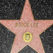 Bruce Lees star on Hollywood Walk of Fame - Stockfoto