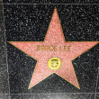 Bruce Lees star on Hollywood Walk of Fame — Stock Photo #11928708