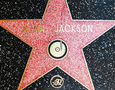 Alan Jacksons star on Hollywood Walk of Fame — Stock Photo