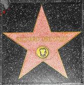 Richard Dreyfuss star on Hollywood Walk of Fame — Stock Photo