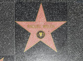 Raquel Welchs star on Hollywood Walk of Fame — Stock Photo