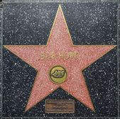 Bob Hopes star on Hollywood Walk of Fame — Stock Photo
