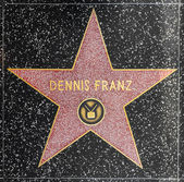Xxx's star on Hollywood Walk of Fame — Stock Photo