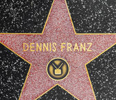 Xxx's star on Hollywood Walk of Fame — Stock Photo