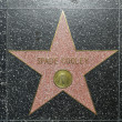 Spade Cooleys star on Hollywood Walk of Fame - Foto de Stock