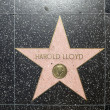 Harold lloyds star on Hollywood Walk of Fame - Foto de Stock