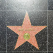 Jane Russells star on Hollywood Walk of Fame - Foto de Stock