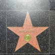 Jane Russells star on Hollywood Walk of Fame - Foto Stock