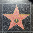 Glenn Closes star on Hollywood Walk of Fame - Foto de Stock