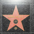 Andrea Bocellis star on Hollywood Walk of Fame - ストック写真