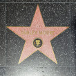 Dudley Moores star on Hollywood Walk of Fame — Stock Photo