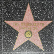 Stock Photo: Original 5th dimensions star on Hollywood Walk of Fame