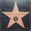 Stock Photo: Donald Sutherlands star on Hollywood Walk of Fame