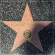 Placido Domingos star on Hollywood Walk of Fame — Stock Photo