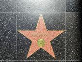 Jane russells estrella en hollywood paseo de la fama — Foto de Stock