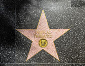 Douglas Fairbanks star on Hollywood Walk of Fame — Stock Photo