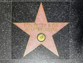 Tom Petty & the Heartbreakers star on Hollywood Walk of Fame — 图库照片