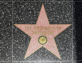 The original 5th dimensions star on Hollywood Walk of Fame — Stock Photo