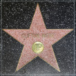 Clifton Webbs star on Hollywood Walk of Fame - Zdjęcie stockowe